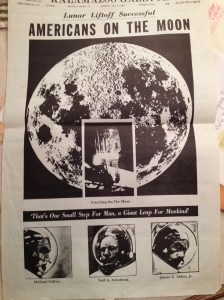 Story of the first man on the Moon.